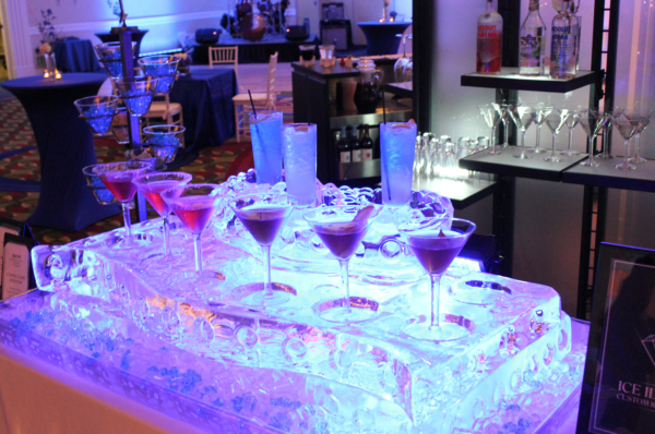 drink display feature